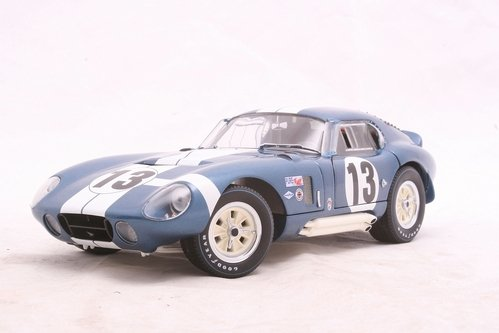 Exoto Racing Legends 1/18 Jo Schlesser/Hal Keck #13 1965 Cobra Daytona Coupe:...