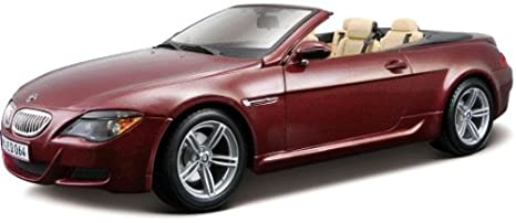 BMW M6 Convertible Burgundy 1/18