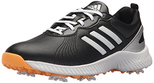 adidas Women's W Response Bounce Golf Shoe, core Black/FTWR White/Real Gold s, 6.5 Medium US