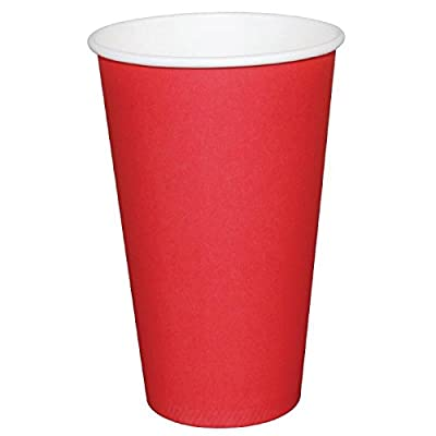 1000 X Fiesta Hot Cup simple paroi Rouge 340,2 gram jetable de voyage Take Away