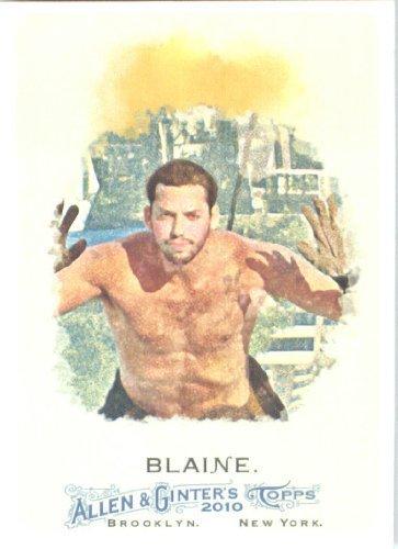 Baseball Guinness (2010 Topps Allen and Ginter Baseball Card # 272 David Blaine - Guinness Book World Record Holder - MLB Trading Card)