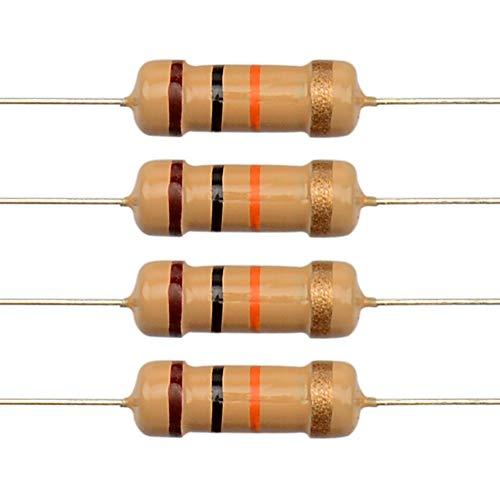 100pcs 10k ohm resistor Metal Film Resistors 1/% Tolerance