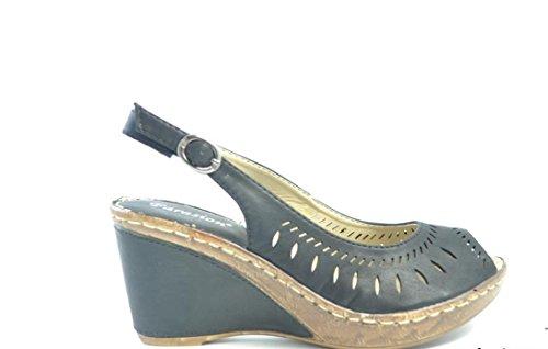 De la Mujer Sandalette–Sandalias Varios Modelos tamaño 4–7, de las mujeres Mules–Zuecos 3839 Schwarz Modell 2