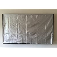 37 Flat Screen TV - OUTDOOR Water Resistant Silver Cover, Ideal for Plasma and LCD TV - 36.25W x 4H x 22.75H