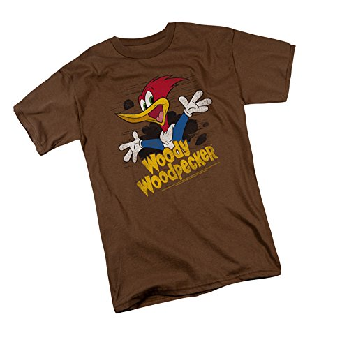 Through The Trees Woody Woodpecker Adult T Shirt Large