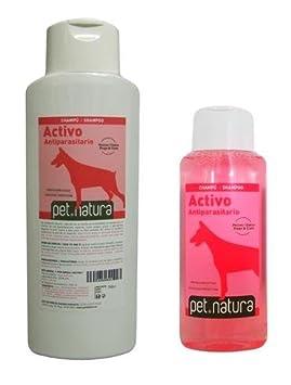 Champú Activo Insecticida 750 ml. para perros y gatos: Amazon.es: Productos para mascotas