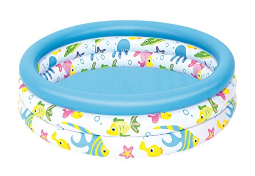 Bestway Ocean Life Inflatable Paddling Pool for Kid's - 40 x 10 Inches