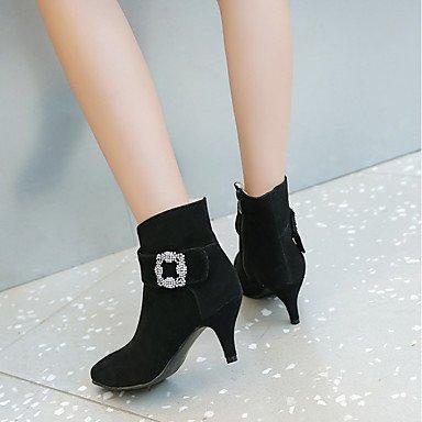 Stiefel Stiefel GLL WinterNubukleder Leuchtende maßgeschneiderte formale Damen Herbst Neuheit Komfort Stiefeletten Modische amp;xuezi Sohlen Schuhe EYYqw1