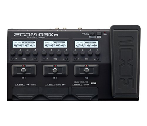 Zoom-G3Xn-Multi-Effects-Processor-with-Expression-Pedal-for-Guitarists-Black