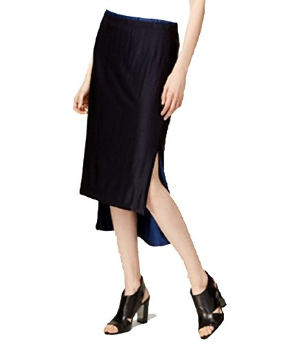 - DKNY Reversible High-Low Midi Skirt (Black, M)