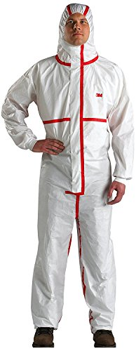 (3M Disposable Chemical Protective Hooded Coverall 4565 (2XLarge, As Shown))