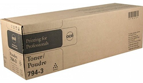 - Original, Authentic, Genuine Oce Brand 794-3 Laser Toner Cartridge. (25,000 page yield) For use in: Oce im3510/3511/3512/4510/4511/4512 Series Copiers