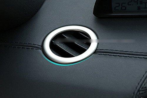 ABS Int/érieur sup/érieur de sortie da/ération pour Trim 2 pcs pour accessoire de voiture BZES