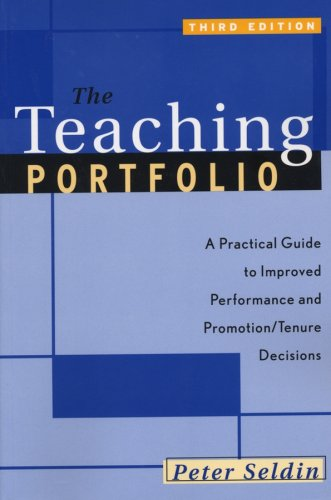 Buy The Teaching Portfolio A Practical Guide To Improved