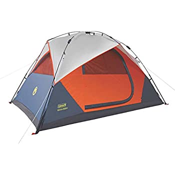 Coleman Instant Dome 5 Person Tent with Integrated Rainfly