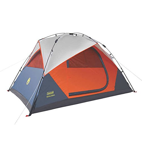 Coleman Instant Dome 5 Person Tent with Integrated Rainfly by Coleman