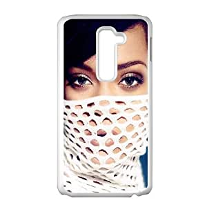 Celebrities Rihanna In White Dress LG G2 Cell Phone Case White DIY TOY xxy002_896607