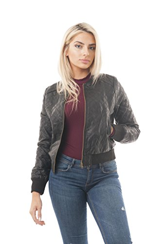 quilted leather jacket - 9