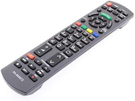 Frompt2y Telecomando di ricambio per televisori LCD TV Panasonic N2QAYB000572 [Non richiede configurazione o programmazione – 2 batterie AA incluse]