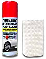 SANMARINO ELIMINADOR DE ALQUITRÁN Y ADHESIVOS SPRAY 520 CC. + BAYETA