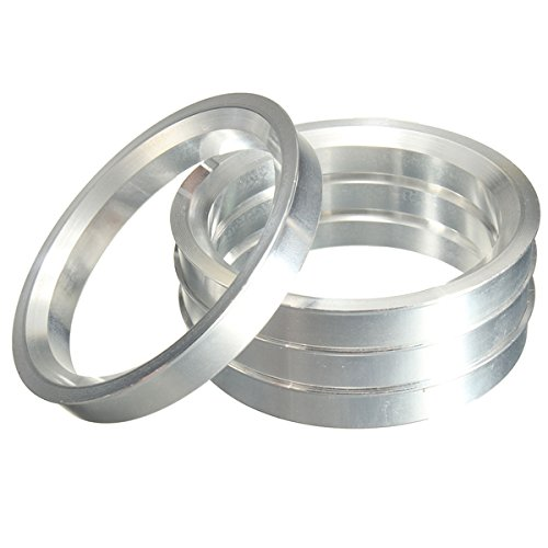 4 pieces - Hubcentric Rings Aluminium Hub Centric Rings 70.3x78.1mm BSD