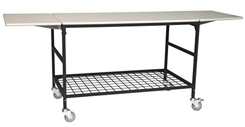 IRSG ERGO-50-K2 IRSG Height Adjustable Mobile Processing Table, 26'' Width x 51'' Length x 35''-40'' Height by Irsg