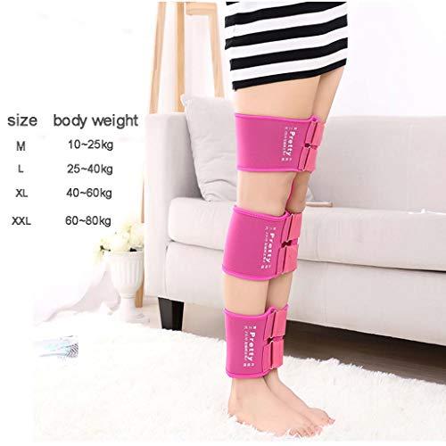 Mesurn Adult Child Leg Correction O/X Leg Correction Belt Band Leg Correction Tape Straightening Thin Leg Multiple Colour Correction Band (Color : Pink, Size : M) by Leg Corrector Bandage (Image #4)