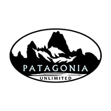 CafePress - Patagonia Unlimited - Oval Bumper Sticker Car Decal