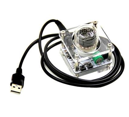 FidgetFidget Mini QS30-1/SZ-8 Nixie Module USB Single-digit