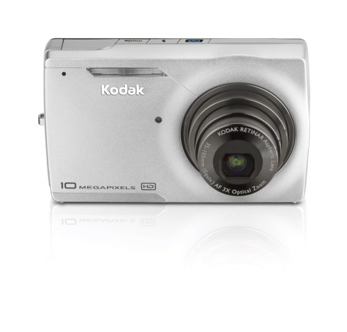 - Kodak Easyshare M1093IS 10 MP Digital Camera with 3xOptical Image Stabilized Zoom (Silver)