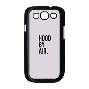 Ac81 Hood By Air Logo white Minimal plastic funda Samsung Galaxy S3 9300 cell phone case funda black cell phone case funda cover ALILIZHIA13749