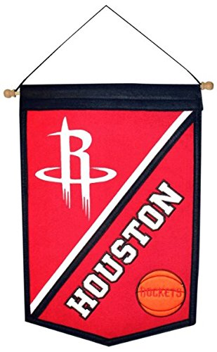 NBA Houston Rockets Traditions Banner (Pennant Traditions Vintage)