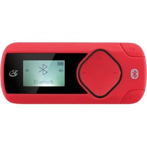 (GPX MWB308R Wireless MP3 Player, Red)