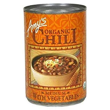 Amys Chili Medium Veg Gf Org