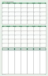 Sticky-Note 60-Day Sunday-Saturday / 2-Month / 7-Column Prioritizing Organizing Planner 24\