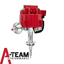 A-Team Performance Chrysler, Dodge, Plymouth V8 Engines 318 340 360 65K COIL Red Cap HEI Complete Distributor One Wire