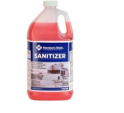 Member's Mark Commercial Sanitizer (128 oz.) 2 PACK