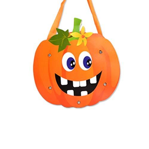 Gift Bags & Wrapping Supplies - 2019 Halloween Paper Sweets Bag Handbags Diy Pumpkin Candy Gift Bags Ktv Bar Party Decor - Cello Bag Bags Pillow Candy Paper Sweet Party Paper Backdrop Backdrop Pa