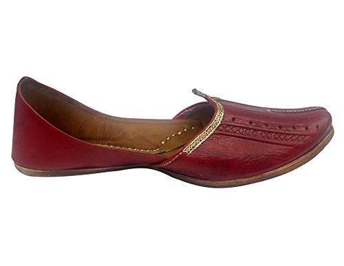Stap N Stijl Heren Indiase Schoenen Punjabi Jutti Pakistaanse Khussa Traditionele Boho Jooti