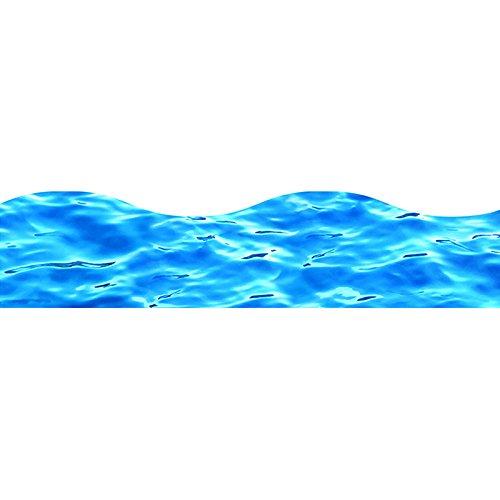 TREND enterprises, Inc. Blue Water Terrific Trimmers, 39 - Waves Ocean Border Big