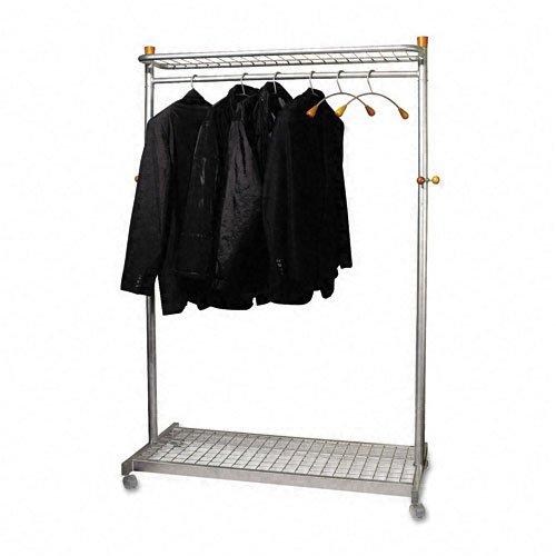 Alba Botanica Two-Sided, Two-Shelf Coat Rack, Six Hangers...