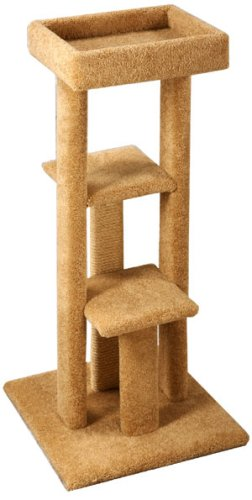 Pacific Pets Triple Platform Sleeper : Color SPECKLED SAND