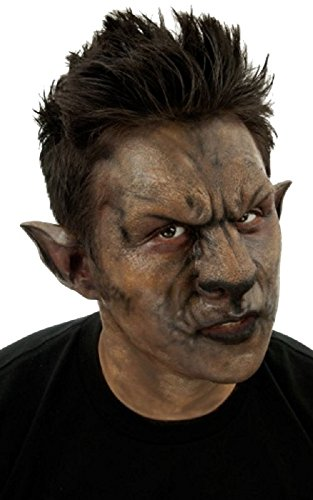 Woochie Classic Latex Noses - Professional Quality Halloween Costume Makeup - Wolf Set -