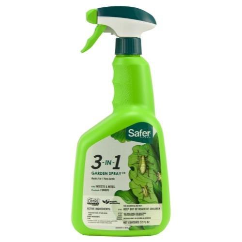 (Safer 3 In 1 Garden Spray)