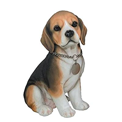 "C&F Garden Decor Beagle Poly Dog GD2022 8"" H: Toys & Games"
