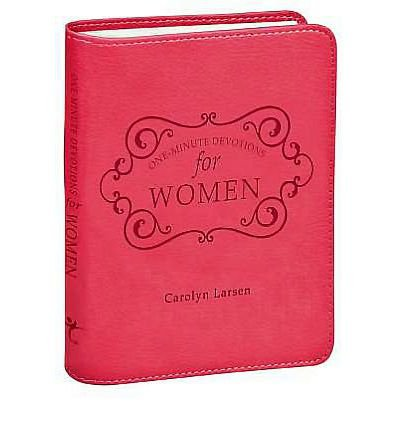Download [ [ [ One-Minute Devotions for Women (One-Minute Devotions) [ ONE-MINUTE DEVOTIONS FOR WOMEN (ONE-MINUTE DEVOTIONS) ] By Larsen, Carolyn ( Author )Jul-01-2011 Leather pdf