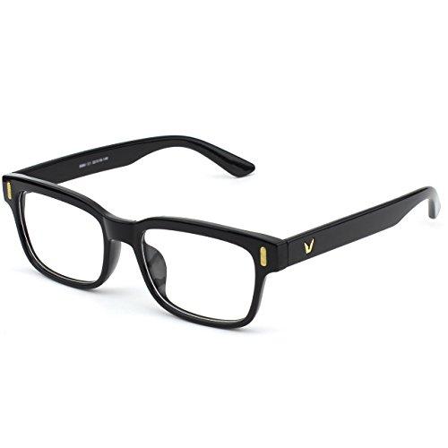 à rectangulaire monture audacieuse transparents fashion CN84 d'écaille casual verres Black monture CGID épaisse Lunettes Glossy à et cvOqwWz8U