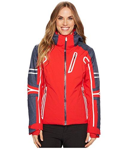 - Spyder Women's Vintage Rad Pad Jacket Red/Frontier 12