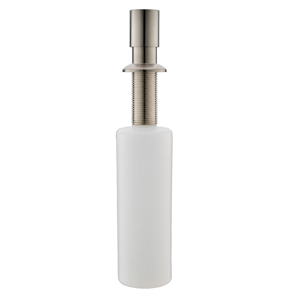 VESLA HOME Stainless Steel Built in Pump Kitchen Sink Countertop Kitchen Sink Dish Soap Dispenser, Brushed Nickel Modern Soap Dispenser by VESLA HOME (Image #7)