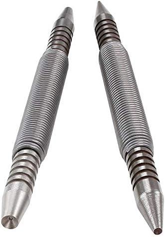 "Spring Tools TP1234 Hammerless Trim Pro Pak Set Includes 1/32"" 2/32"" 3/32"" 4/32"" Nail Sets (2 Piece)"